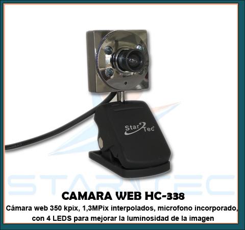 cámara web HC-338