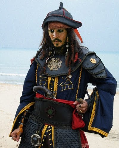jack sparrow costume. Jack Sparrow Costume Photo