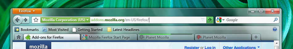 How to Put Tabs Back on Bottom in Mozilla Firefox?