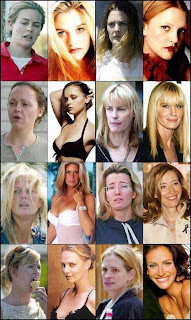 Celebridadades sem maquiagem com photohsop 1