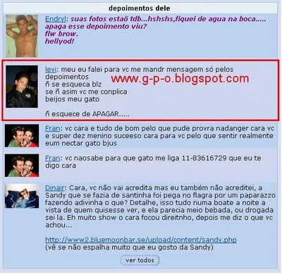 Depoimento orkut