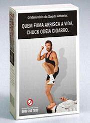 Chuck norris anti-tabaco
