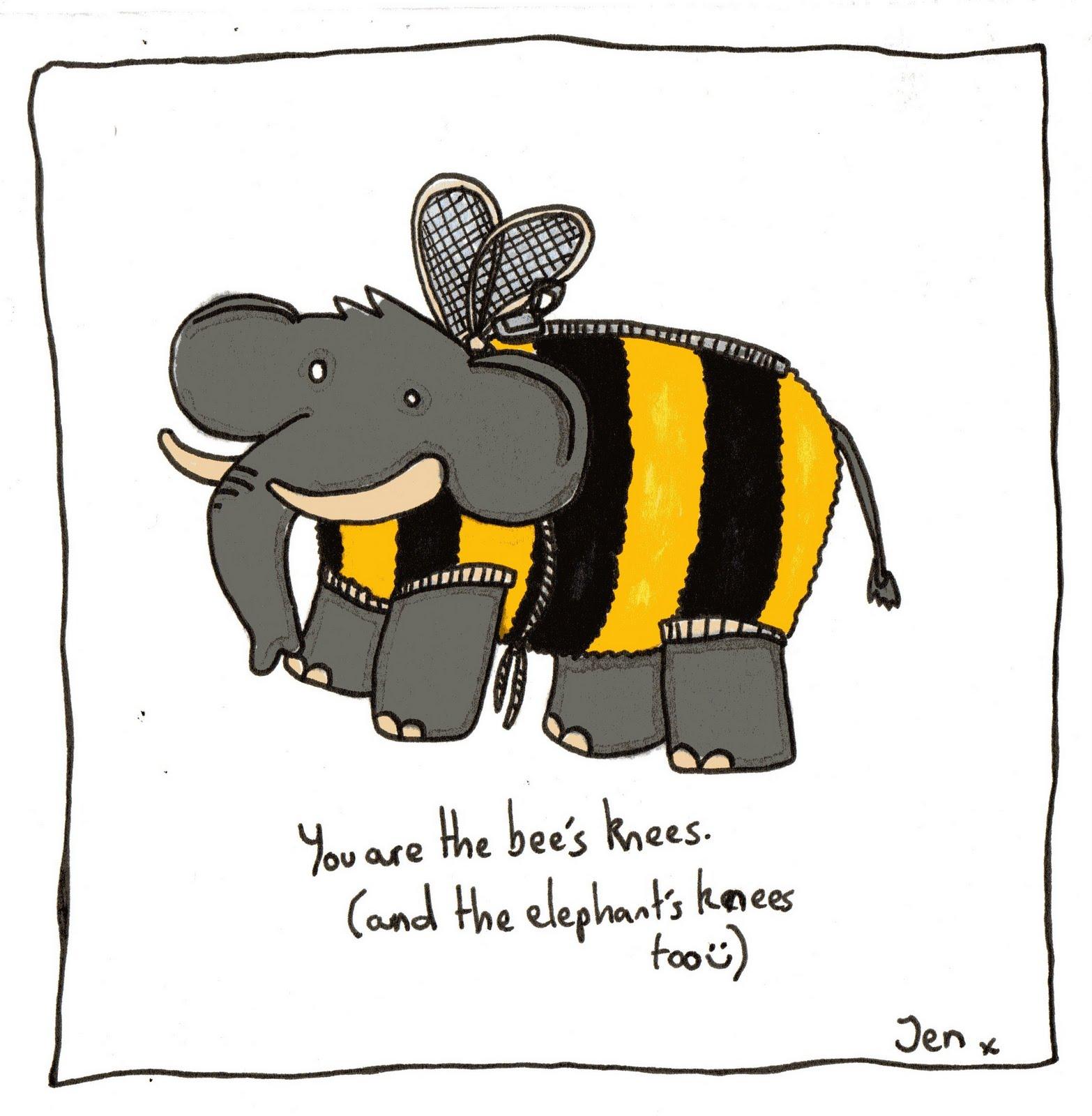 Hedgehog's Dilemma.: Beth Freeman is the Bee's Knees