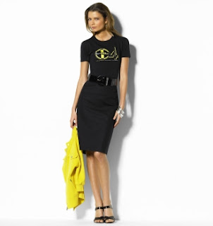 pencil skirt, ralph lauren