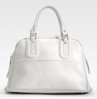 Bolsa Longchamp Cosmos leather satchel