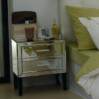 Mesas de cabeçeira Art Deco