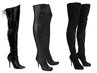 thigh high boots by pleaser