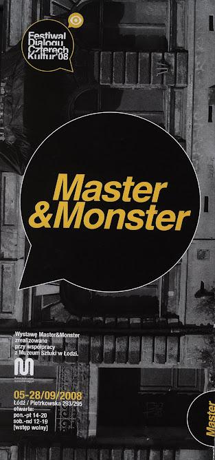 "wystawa ""Master & Monster"""