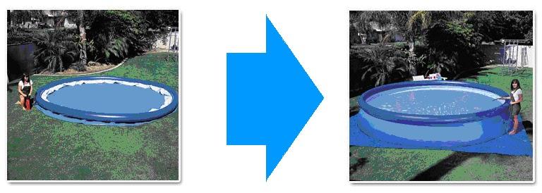 Piletas inflables en chascom s for Piletas redondas inflables carrefour