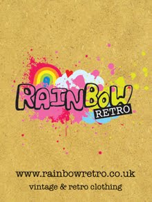 Rainbow Retro vintage and retro clothing