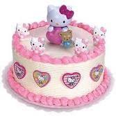 Torta Infantil Kitty