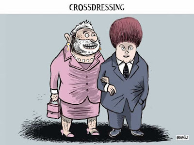 Lula e Dilma: Crossdressing na presidência