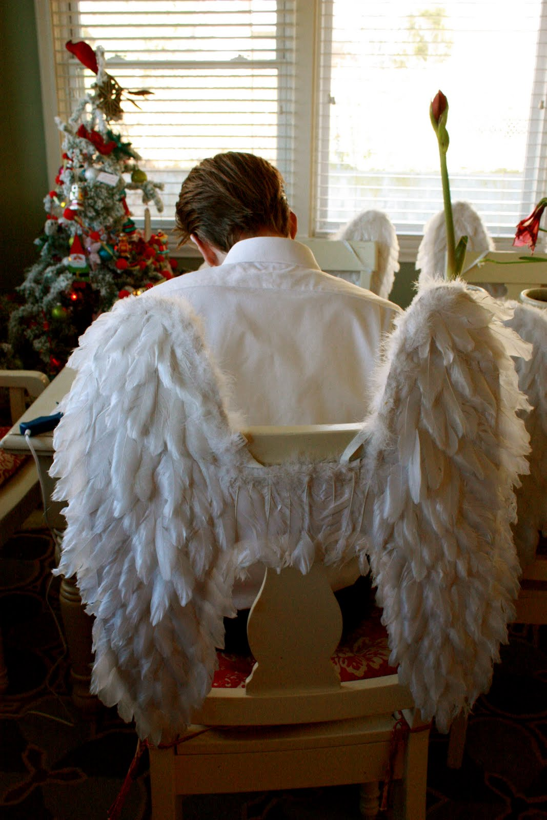 NieNie Dialogues: Christmas around my house/Nie asks on Blogher