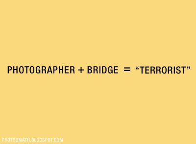 Photographers are not <br />Terrorists you idiot