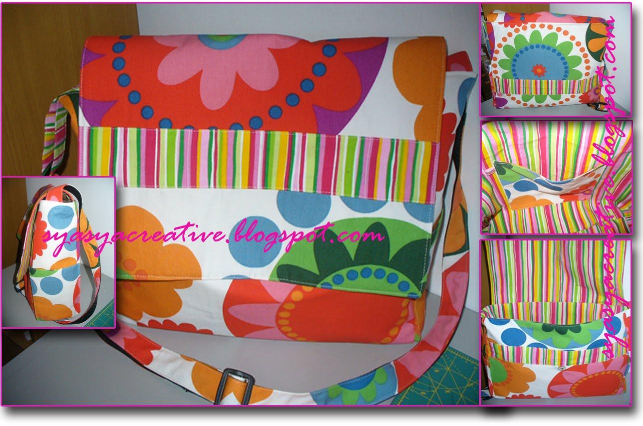 Diaper Bag ~ Craft Apple Sewing Pattern - Sew Mama Sew!