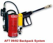 Extintor portátil AFT bombeiros