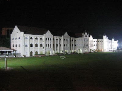Night view of St. Michael's Institution, Ipoh