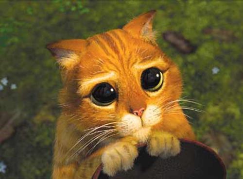 Fotos animadas con movimiento del gato con botas - Imagui