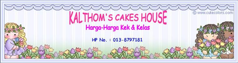 Kalthom's Cakes House