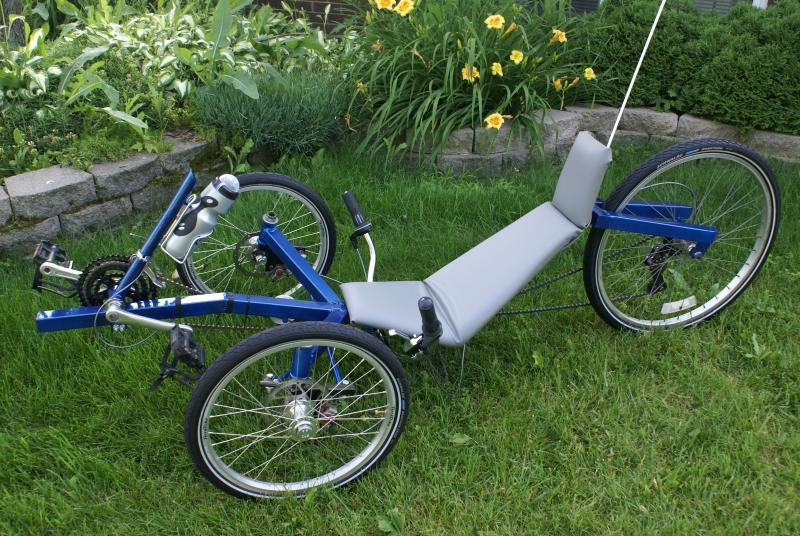 3 Wheel Recumbent Bike Plans submited images