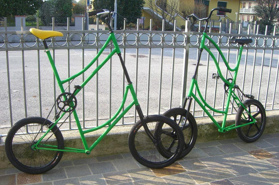 how to build a tall bike
