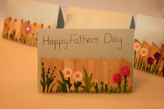 father day gifts: garden fence greeting card