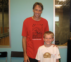 Tony Hawk, the most Radical Dude on the planet, and me!