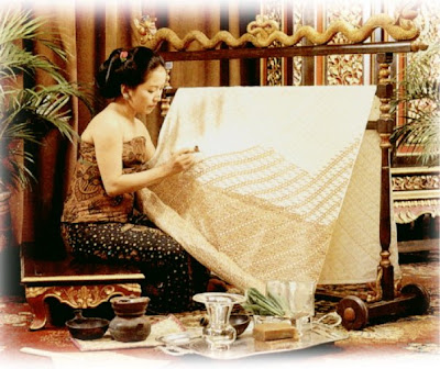 batik indonesia is about culture, the process instead of the result...