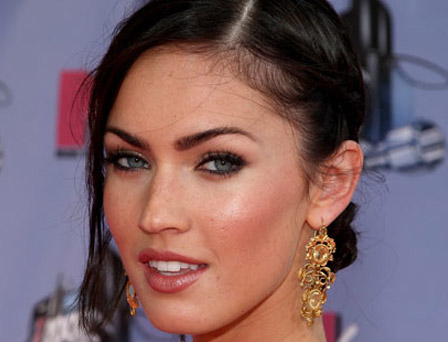 megan fox eyebrows stencil