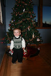 Kohen in his Christmas sweater
