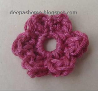 Little Crochet Flower Pattern - Floralshowers | Crocheted