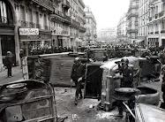 Barricadas em 1968 na França