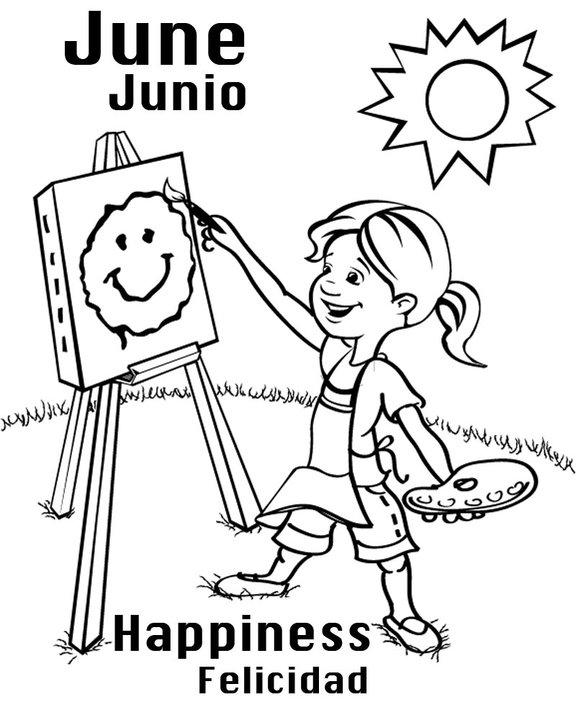 Calista ward illustration junio felicidad for Byu coloring pages