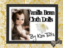 Vanilla Bean Cloth Dolls by Kim