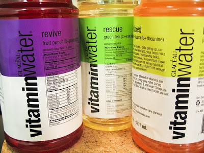 Vitamin Water and Junk Food Science blog
