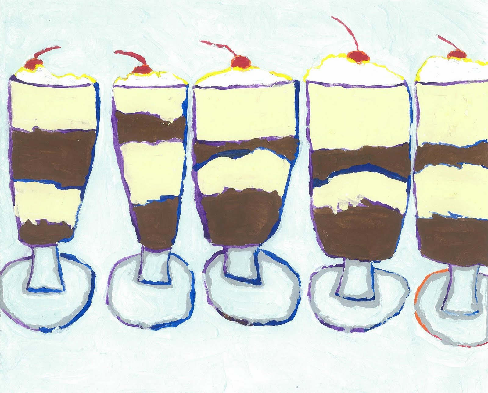 Art for Small Hands: In the Style of - Wayne Thiebaud
