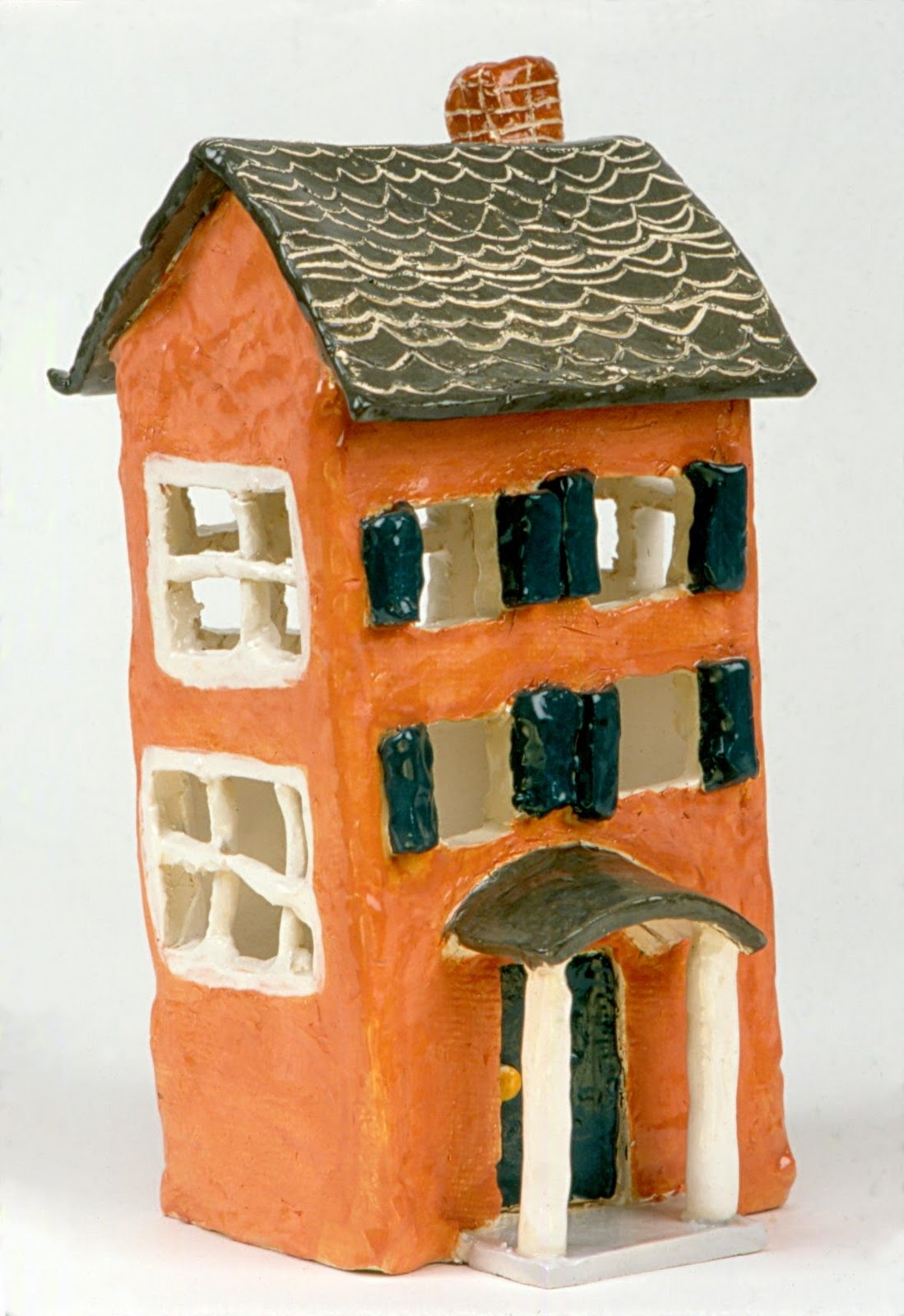 Clay houses art