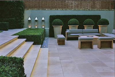Casas minimalistas y modernas dar el caracter minimalista - Macetas minimalistas ...