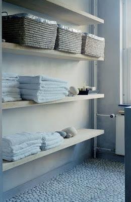 Estilo rustico los estantes de bano y cocina - Decoracion casa barato ...