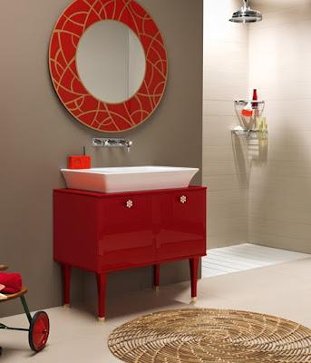 Casas minimalistas y modernas muebles para bano regia for Muebles para bano estilo vintage