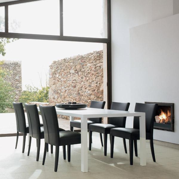 Casas minimalistas y modernas sillas espanolas modernas for Comedores minimalistas