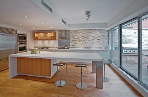 Islas amplias para las cocinas for Cocinas completas modernas