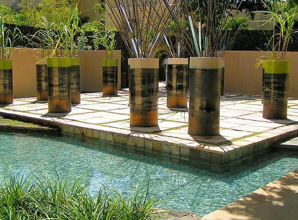 Casas minimalistas y modernas jardines minimalistas urbanos - Jardines modernos minimalistas ...