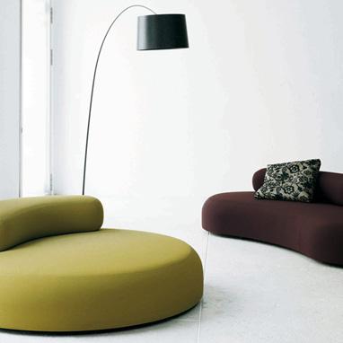 Casas minimalistas y modernas divani los muebles for Muebles italianos