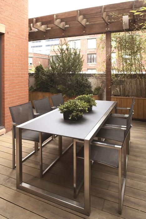 Casas minimalistas y modernas terrazas de hoy for Decoracion de terrazas minimalistas