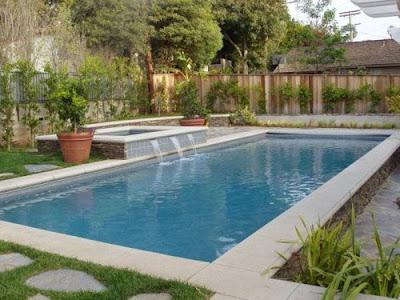 Estanques y cascadas las cascadas en piscinas for Cascadas de piscinas