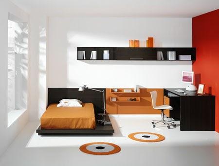 Casas minimalistas y modernas dormitorio juvenil - Disenar dormitorio juvenil ...