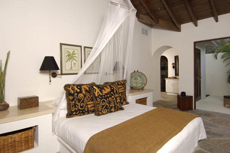 Estilo rustico dormitorio rustico de maderas claras - Cortinas rusticas dormitorio ...