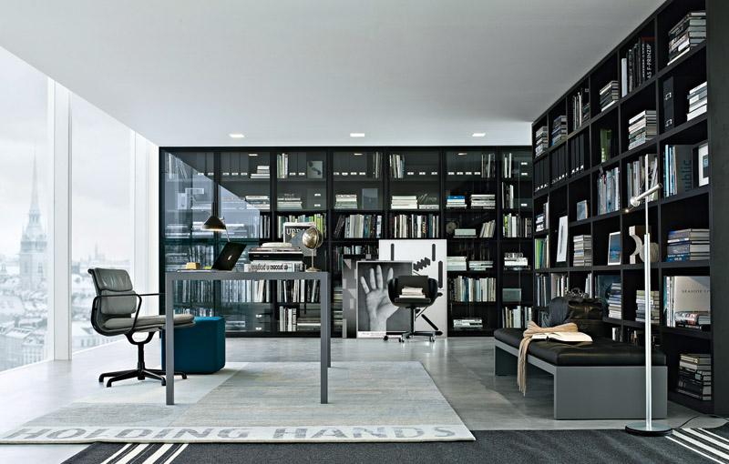 casas minimalistas y modernas bibliotecas modernas de