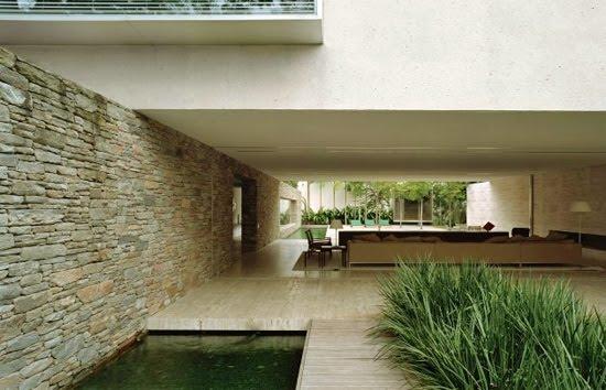 Estanques y cascadas estanques geometricos for Estanques de piedra